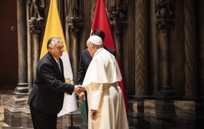 "PM Orbán:教皇弗朗西斯重申我,家庭不能""相對化"""